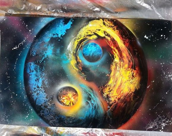 17 Best images about spray paint art on Pinterest ...