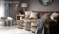 Living Room - Champagne, grey, taupe, gold, silver ...