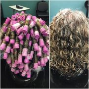spiral perm rods ideas