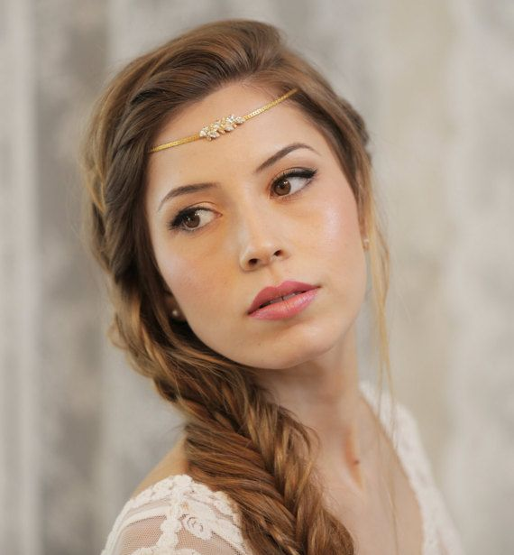 25 Best Ideas About Headband Wedding Hair On Pinterest Headband