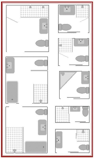 Best 20 Small bathroom layout ideas on Pinterest  Tiny