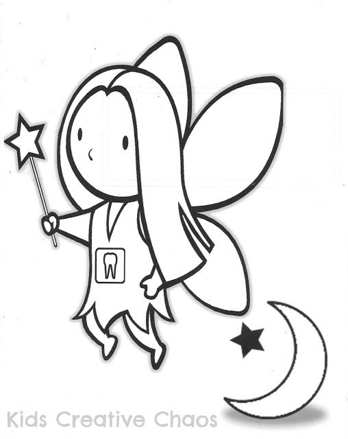 Free Coloring Pages Of Toothfairy
