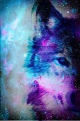 galaxy wolf cool animal wallpapers backgrounds background wolves cute iphone animals google galaxias trippy imagenes animales spiritual soo since guide