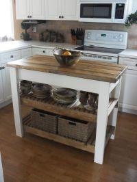 25+ best Small kitchen islands ideas on Pinterest