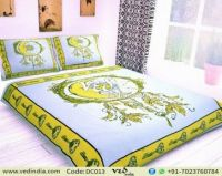 Sun and Moon Stars King Size Quilt Duvet Cover Bohemian ...
