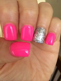 Neon pink nails | Nails, nails and more nails ...