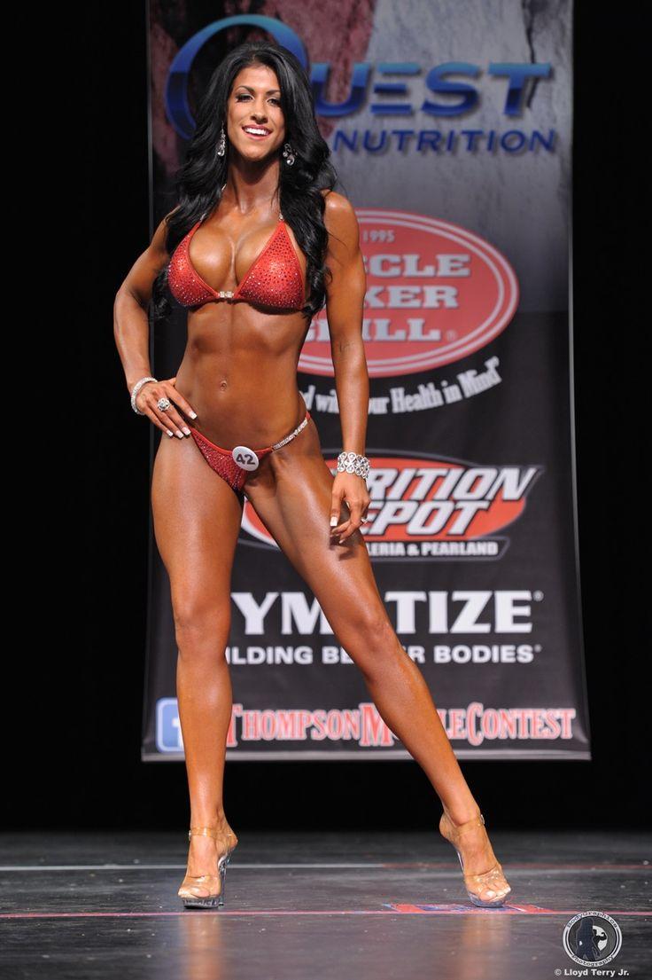 IFBB Pro Sarah LeBlanc Bikini Photography Fitness