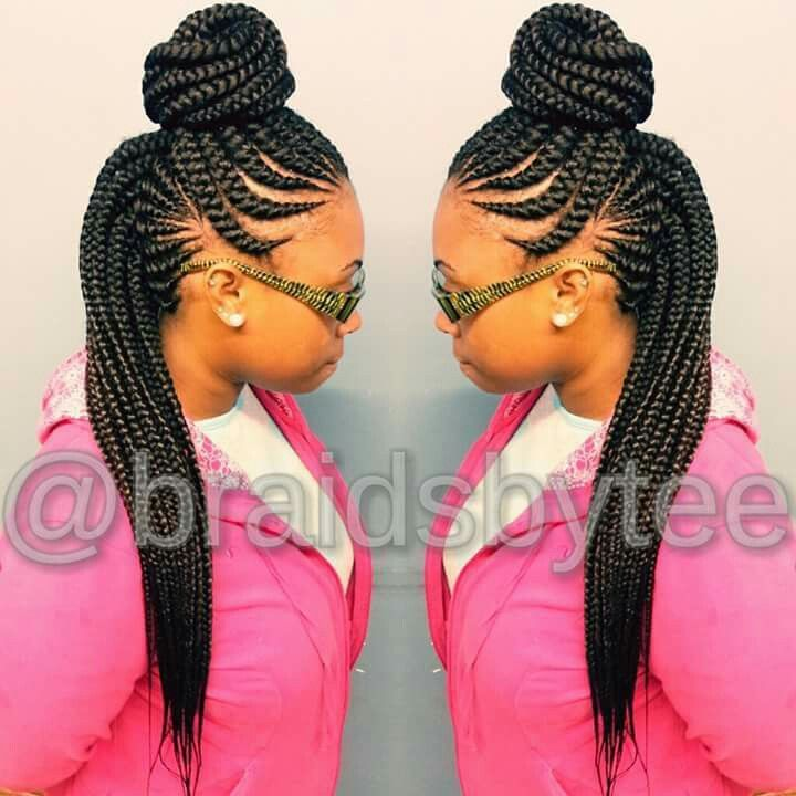 Ghana Hair Cornrows Braids Styles