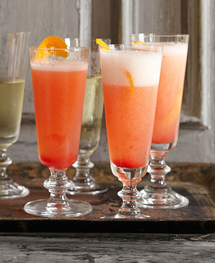 Ina Garten's Rossini Cocktail Recipe  Drinks  Pinterest