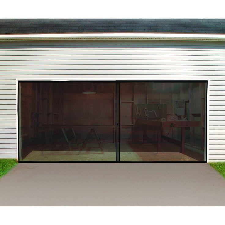 25 best ideas about Garage door screens on Pinterest  Roll up doors Garage door track and