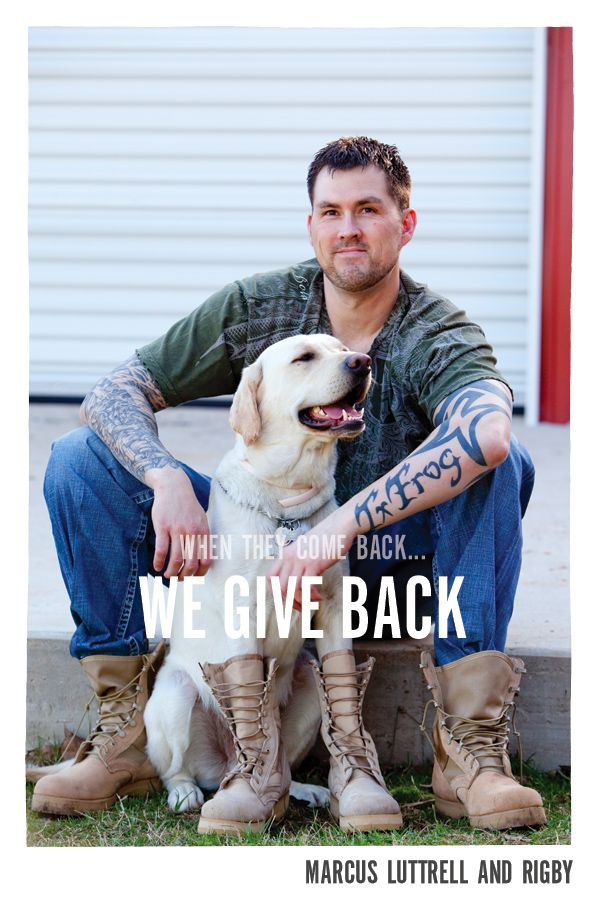 Marcus Luttrell the Lone Survivor wwwbootcampaigncom  Real AMERICAN Heroes  Pinterest
