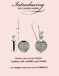 Pandora Charm Barrel, turn charms into earrings! | Coll/J ...