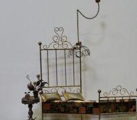 Mid-Century Modern Curtis Jere The Brass Bed Sculpture ...
