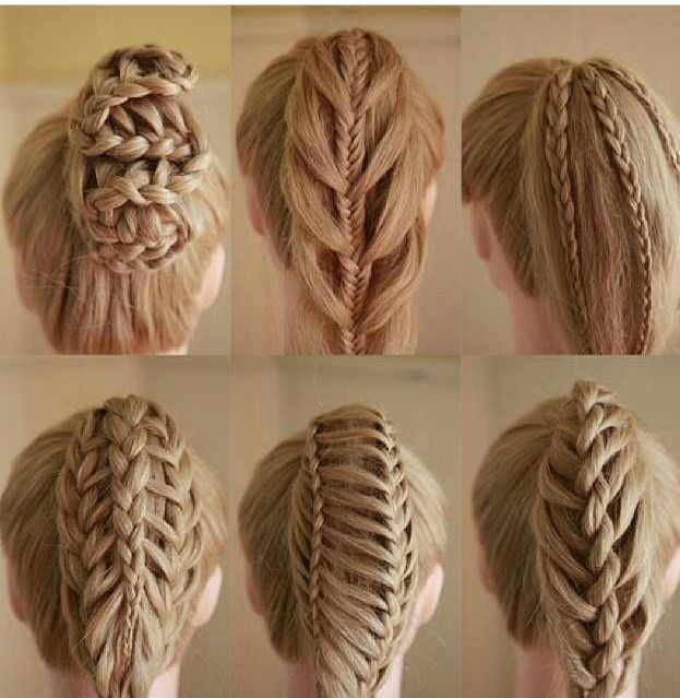 Different types of braids Hair Pinterest Different