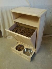DOG AND CAT PET FEEDING STATION FURNITURE   Things for the ...