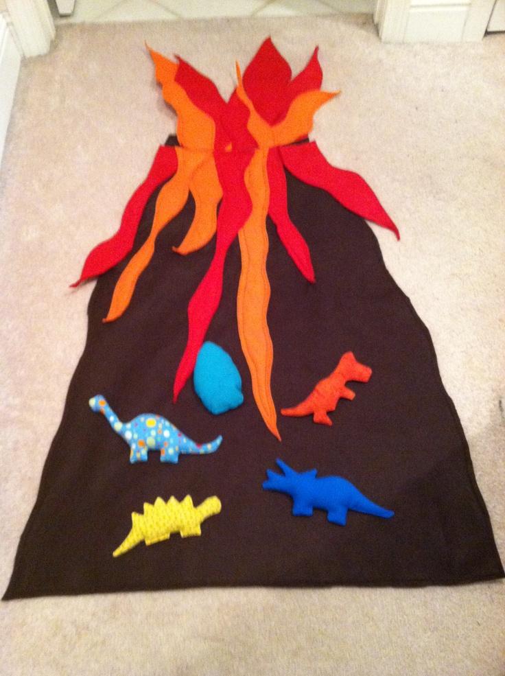 Dinosaur bean bag toss Inspired by this link httpwww