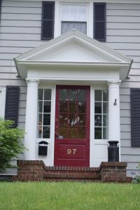 Enclosed entry, a great way to create an entryway when you ...