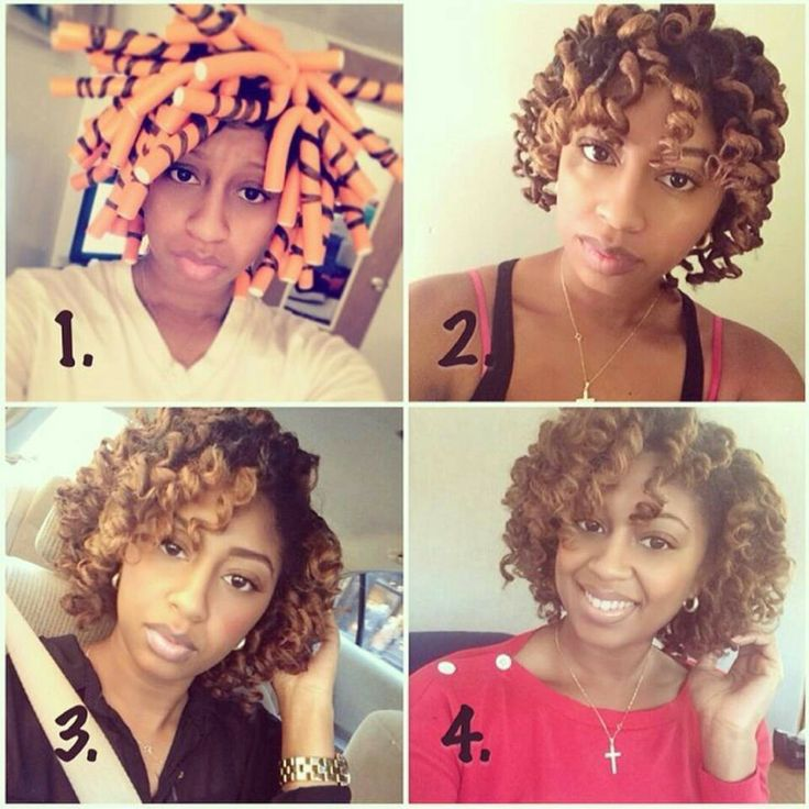 32 Best Images About Flexi Rods For Natural Hair And Perms On