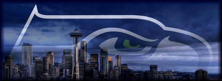 Washington Seahawks Christmas Lights
