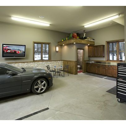 Supercars Gallery Two Car Garage Interior Designs