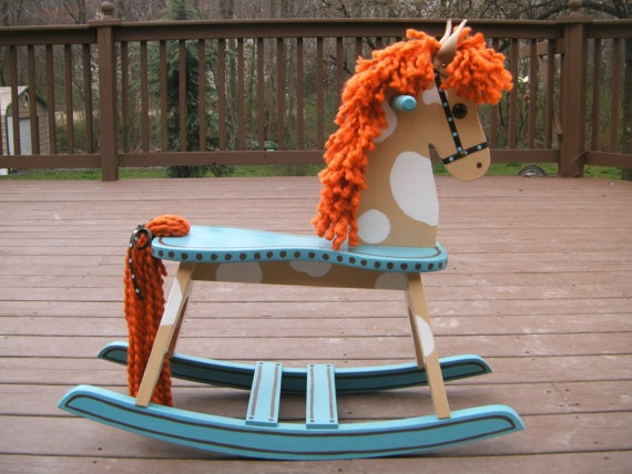 Painting Ideas For Granddaddy's Handmade Rocking Horse