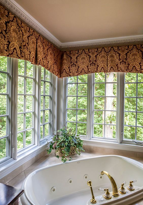 kitchen window valance backsplash tiles for 25+ best ideas about corner treatments on pinterest ...