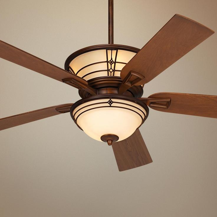"""52"""" Fairmont Aged Bronze Ceiling Fan"""
