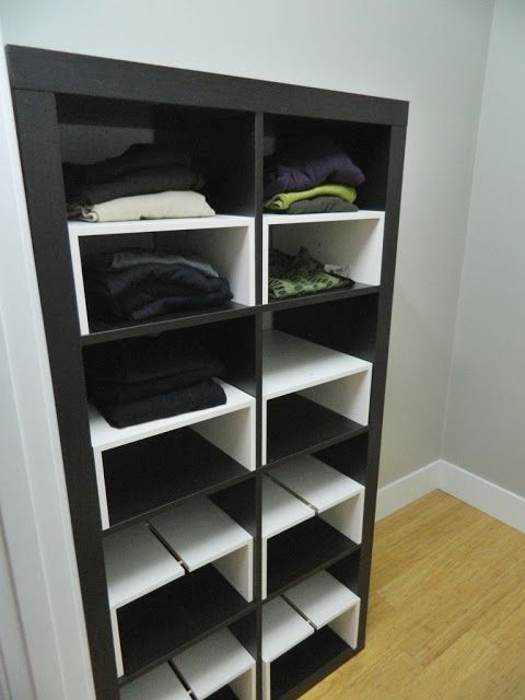 Ikea Hack Expedit Inserts For The Closet Things I Like