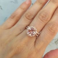 25+ best ideas about Morganite ring on Pinterest | Rose ...