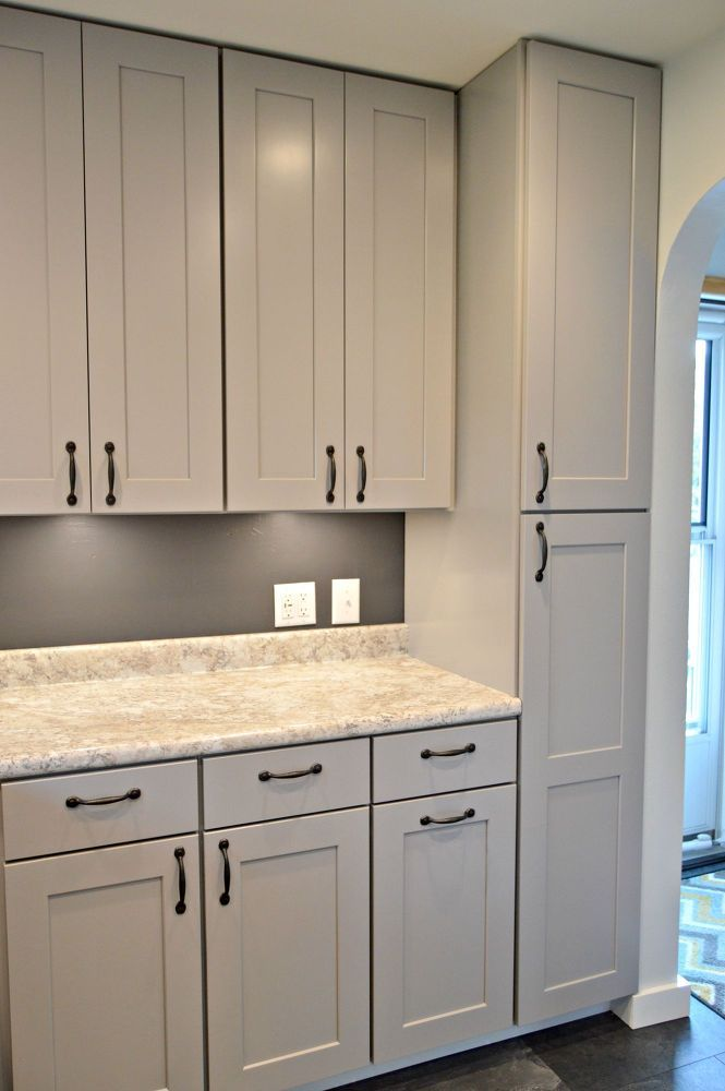 Kitchen Remodel With Gray Cabinets  Kitchen wall colors