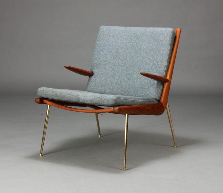 Peter Hvidt Orla Mlgaard Nielsen Boomerang Chair