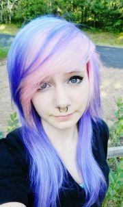 ideas emo hair color