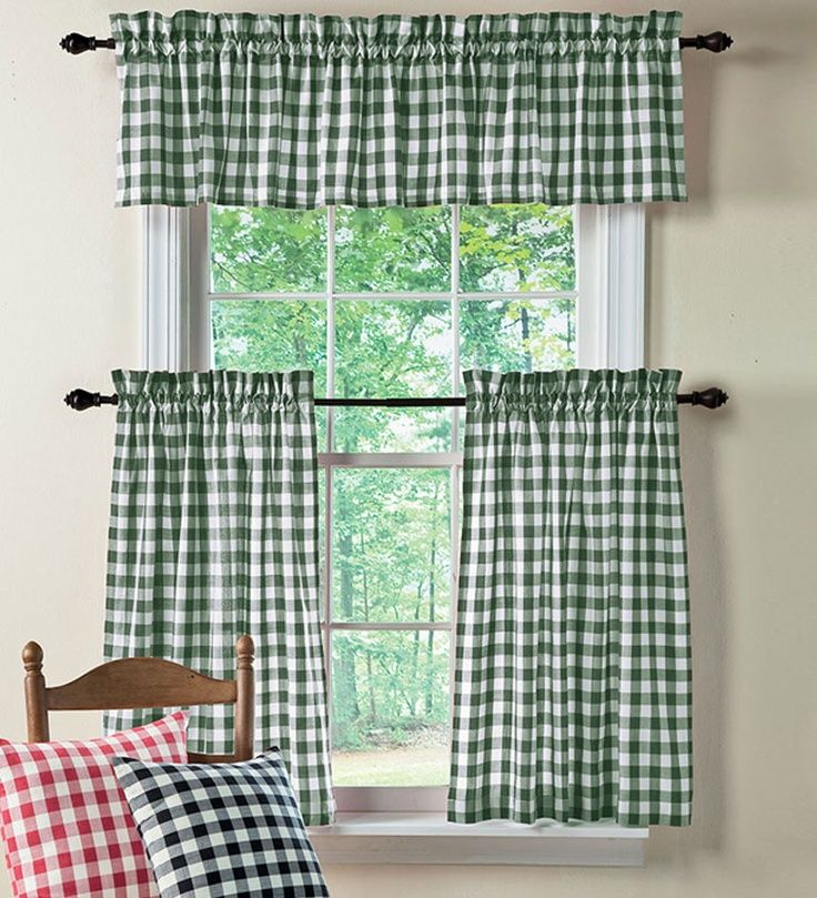 17 Best Ideas About Green Kitchen Curtains On Pinterest Cafe