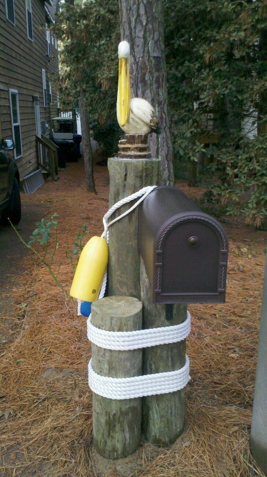 mailbox post plans - woodworking