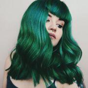 ideas emerald hair