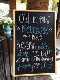 25+ best ideas about Bridal shower signs on Pinterest ...