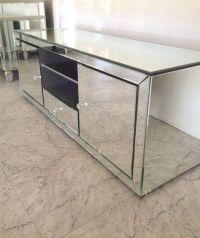 Mirrored TV Cabinet | 017- | Pinterest | TVs, Tv ...