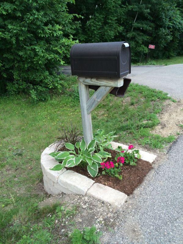 mailbox landscape idea created