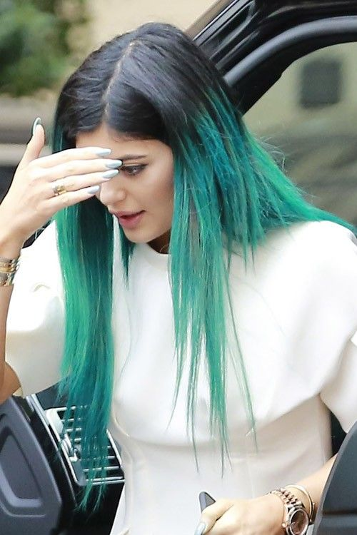 Kylie Jenner Blue Hair Google Search Hair And Beauty