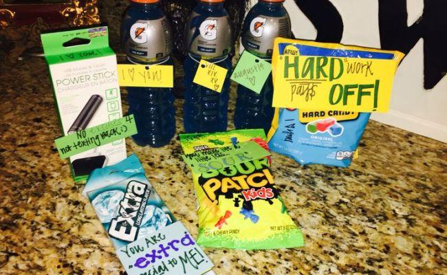 Football Boyfriend Care Package D I Y Pinterest