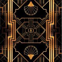 Great Gatsby Art Deco Backdrop for Photos - Wall Decor ...
