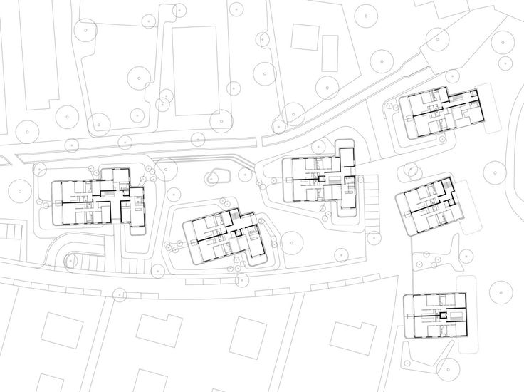 Plans of Architecture (Baumschlager Eberle, Siedlung