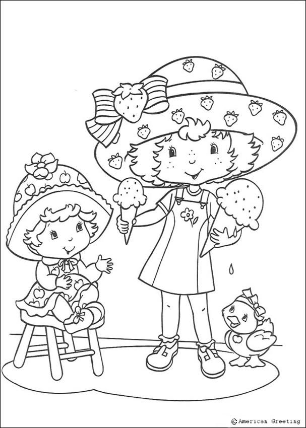 Apple Dumplin Coloring Page
