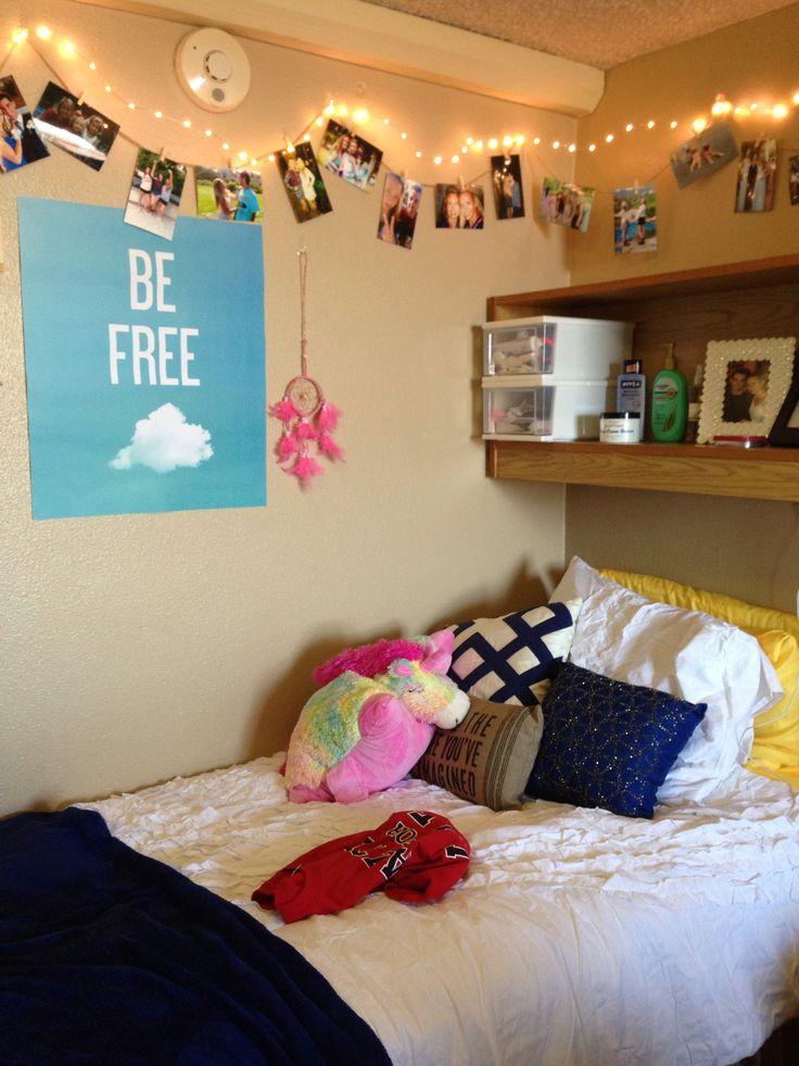 My dorm room  SDSU  College  beyond  Pinterest  The