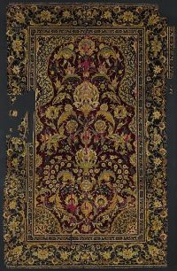 Prayer Rug Object Name: Carpet Date: late 16th century