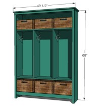 Simple Garage Storage Cabinet Plans - WoodWorking Projects ...