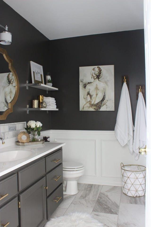 25 best ideas about Navy blue bathroom decor on Pinterest