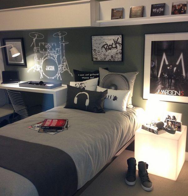 10 Age Boys Music Bedrooms Http Www Decorazilla Com
