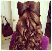 love hair bow style