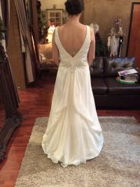 Over bustle | Wedding Gown Bustle Styles | Pinterest | Bustle